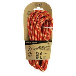 Climbing and Mountaineering Cordelette 7 mm x 4 m - Red