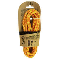Cordelette d'escalade et d'alpinisme 7 mm x 4 m - Orange