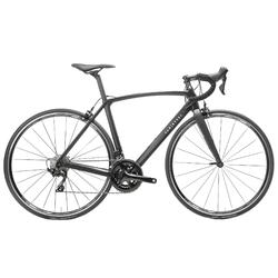 Rennrad Ultra CF Carbon 105 Damen schwarz UK