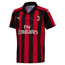 Voetbalshirt AC Milan thuisshirt 18/19 voor kinderen rood/zwart