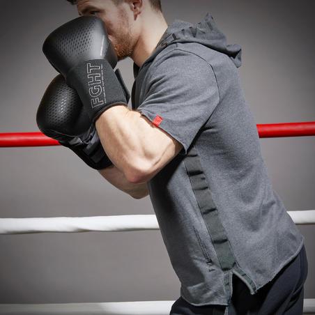 Men's Boxing Hoodie 100 - Grey