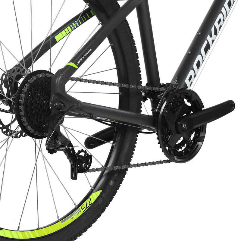 Rockrider ST 520 27.5 8sp Mountain Bike - Grey