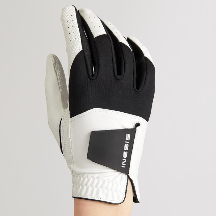 高爾夫手套Resistance(一雙)-白色/黑色