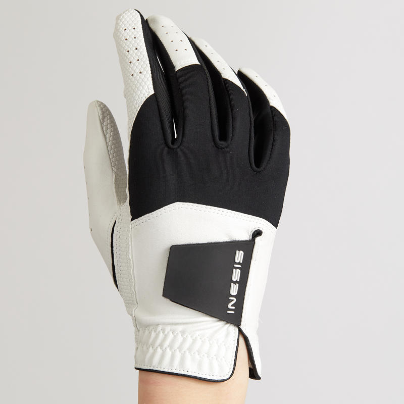 WHITE RIGHT-HANDED KID'S GOLF GLOVE