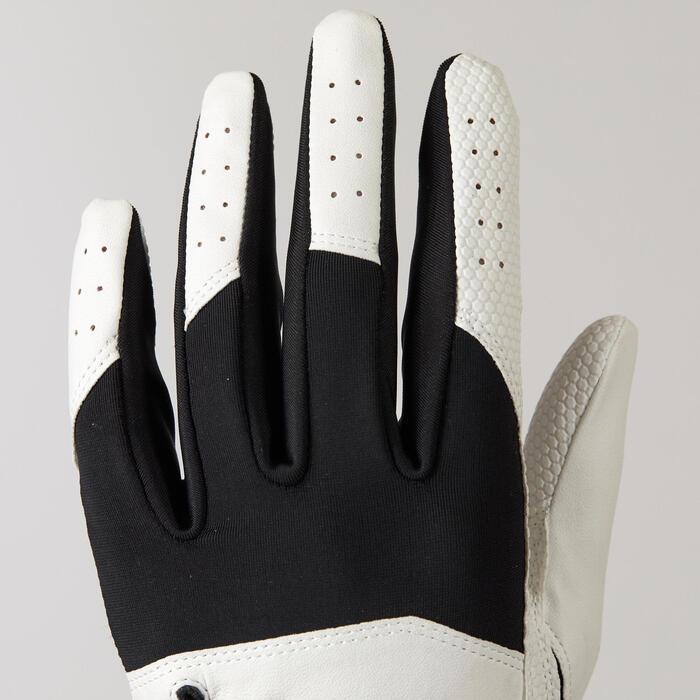 Golfhandschoen voor kinderen rechtshandig wit