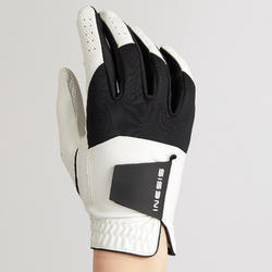 Men's Golf Resistance Glove Left-Handed - White/Black