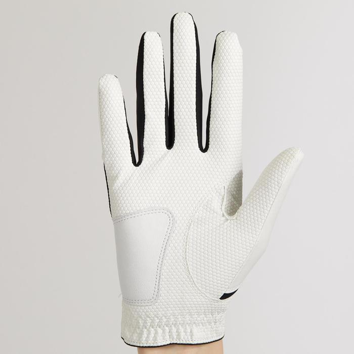 兒童款左手專用高爾夫手套-白色