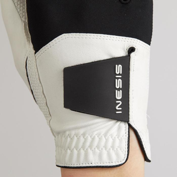 Golfhandschoen voor kinderen linkshandig wit