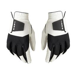 Golf Resistance Gloves Pair - White/Black