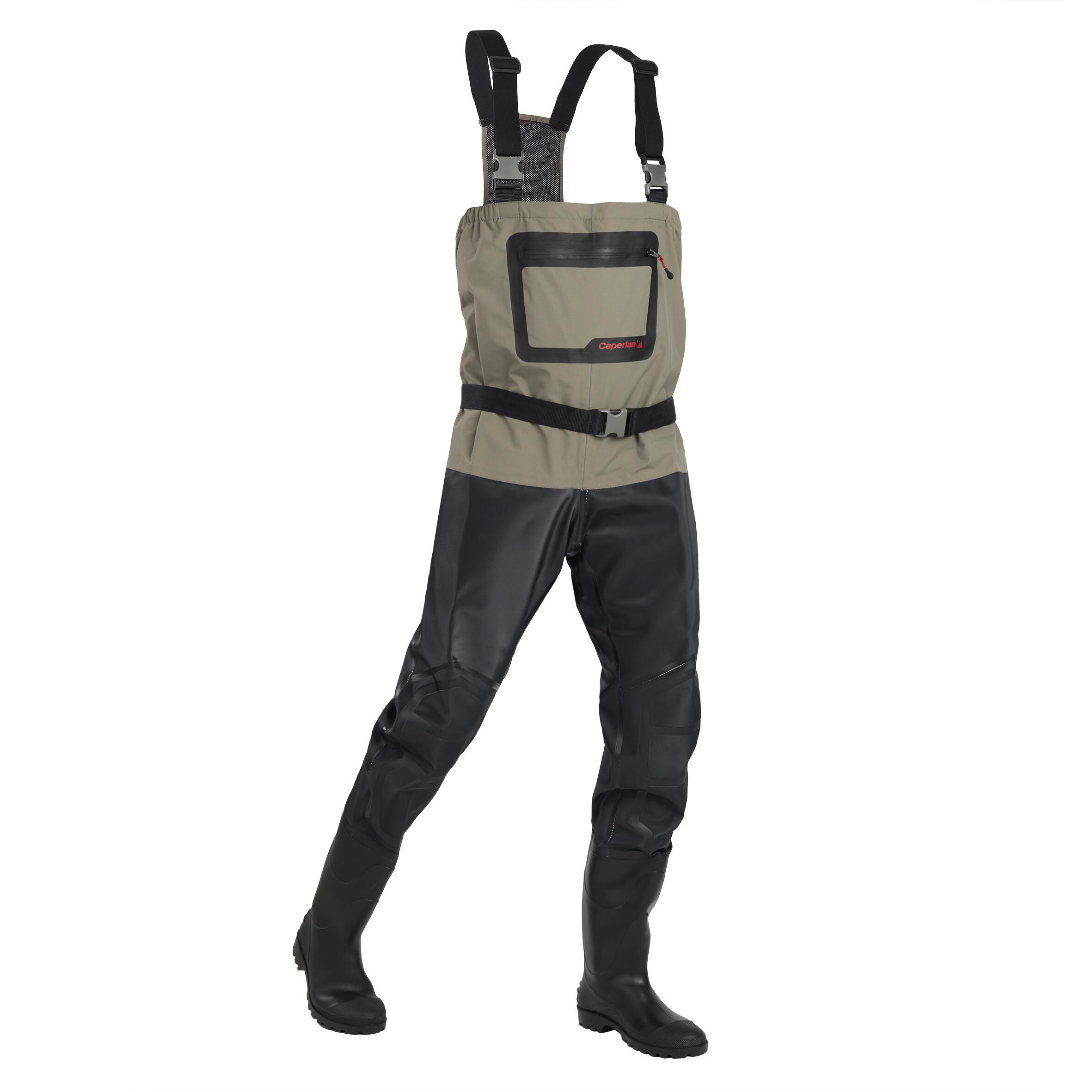 pantalon de p/êche cuissardes noires Waders jusqu/à la taille