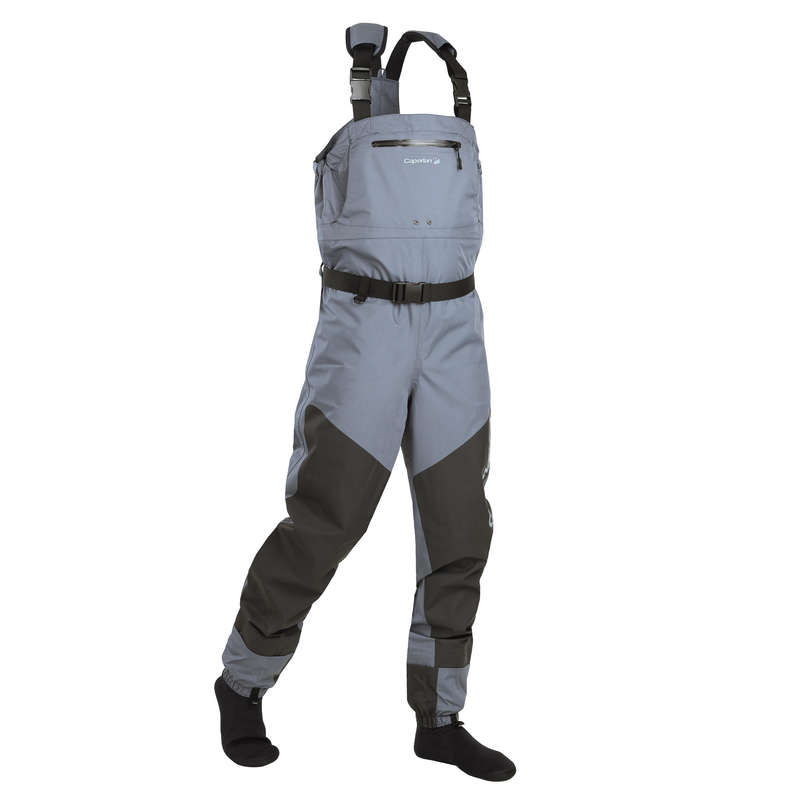 BREATHABLE WADERS SHOES Fishing - WDS-3L Fishing Waders CAPERLAN - Fishing