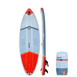 Surf SUP-Board aufblasbar Stand Up Paddle 500 / 8' rot 135 l