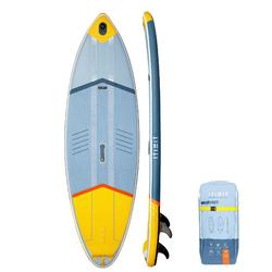 STAND UP PADDLE GONFLABLE DE SURF 500 / 9' JAUNE 175 L