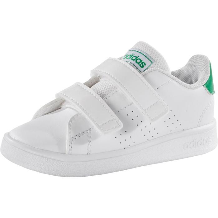 Araña de tela en embudo Pesimista Objetor  Zapatillas Adidas Bebé primeros pasos Advantage blanco verde talla 19 al 27  ADIDAS | Decathlon