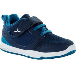 Zapatillas Bebé flexible Domyos I Move 550 azul gris tallas 25 al 30
