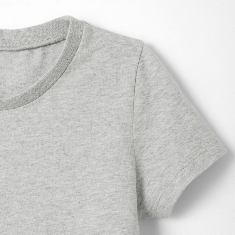 T-Shirt manches courtes baby gym 100 Gris