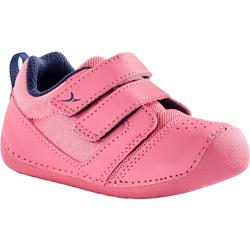 Schoentjes 500 I Learn voor kleutergym roze/roze
