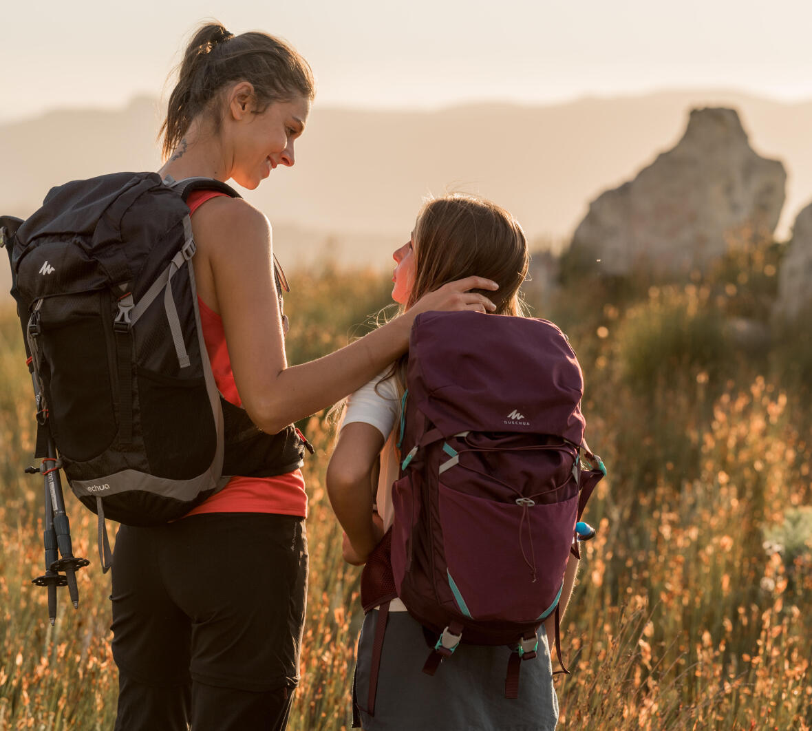 Learn about hiking - map