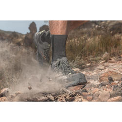 Men's waterproof mountain hiking shoes - MH500 - Blue