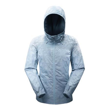 Women's Hiking Warm Waterproof Jacket - SH100 X-WARM