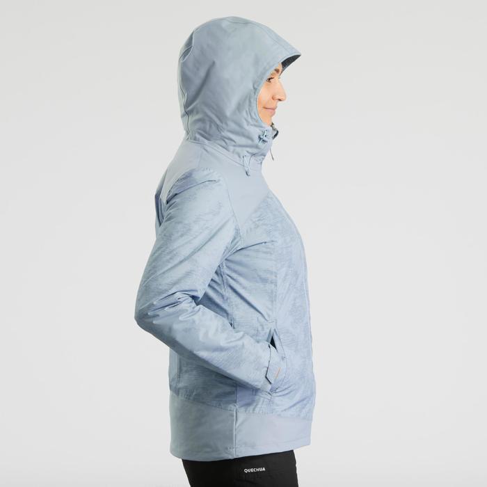 Warme waterdichte wandeljas voor dames SH100 X-Warm