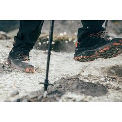 Zapatillas de senderismo montaña hombre MH500 impermeables Negro