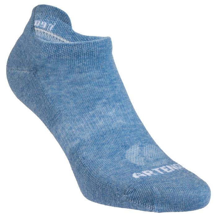 Lage sportsokken Artengo RS 160 marineblauw wit blauw 6 paar