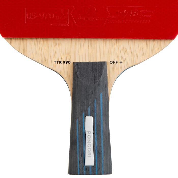 乒乓球拍+球拍套TTR 990 OFF+