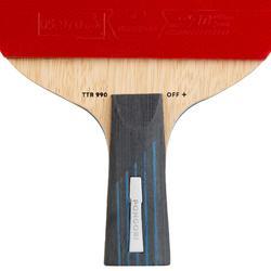 TTR 990 Off+ C-Pen Table Tennis Bat & Cover