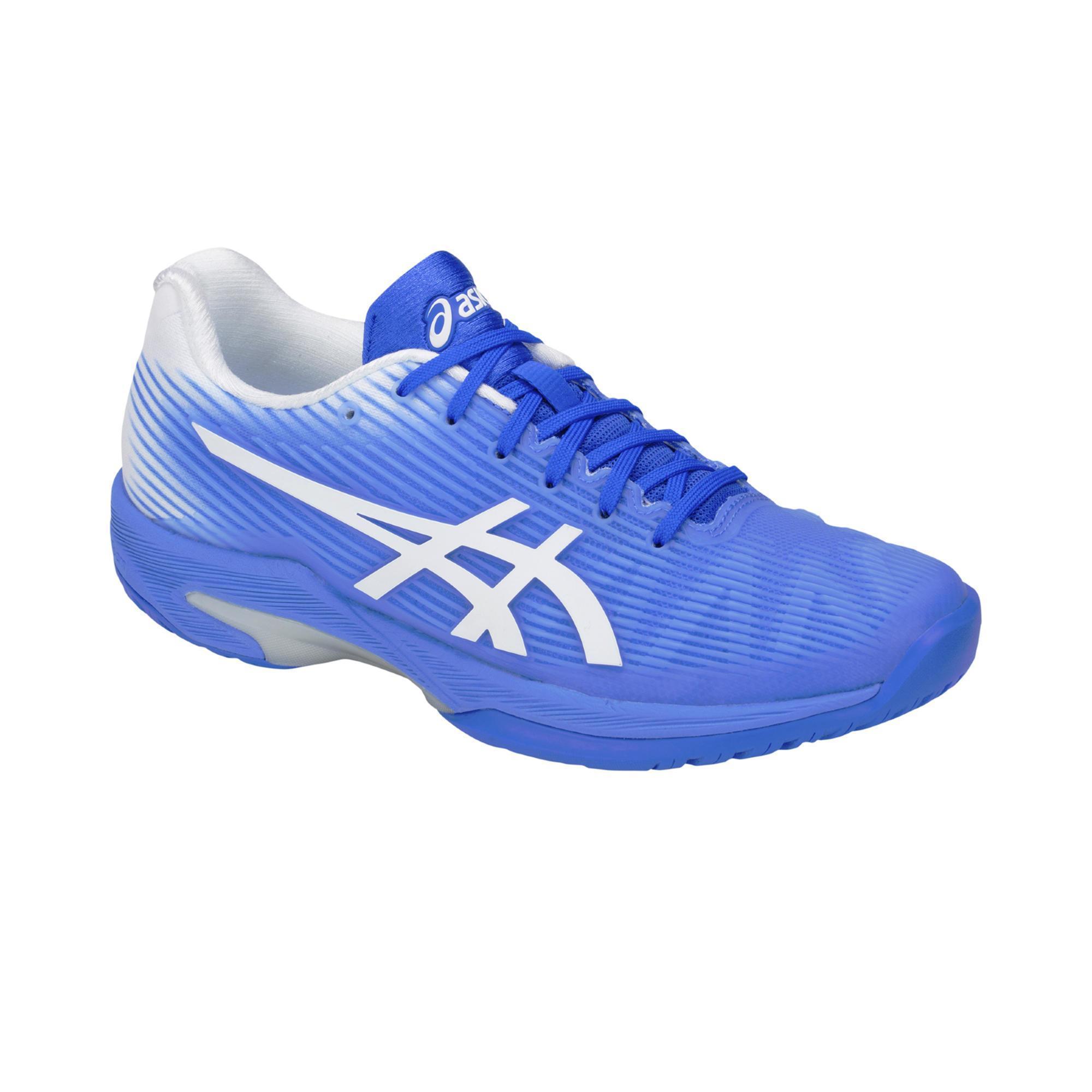 Tennisschuhe Gel Solution Speed Damen Flash blau | Schuhe > Sportschuhe > Tennisschuhe | ASICS
