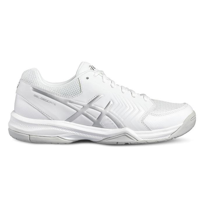 Tennisschuhe Gel Dedicate Multicourt Damen weiß