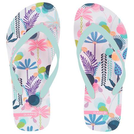 Sandalias De Playa Surf Olaian TO 120 Niña Multicolor