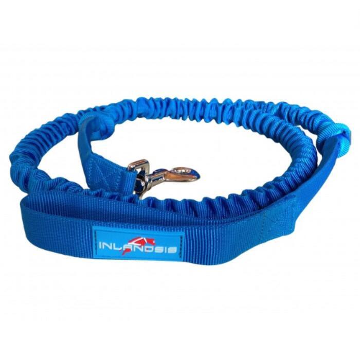 Elastische hondenlijn voor canicross en cani-hiken met karabijnhaak Crosser 1