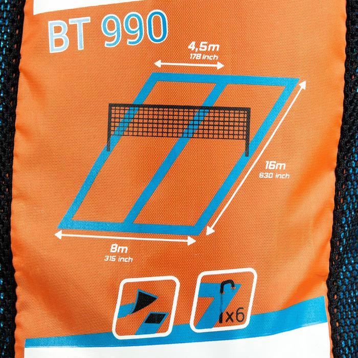 Délimitations de terrain de beach Tennis BT 900 bleu