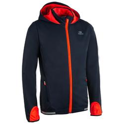 Kids' Athletics Warm Jacket - Grey Orange