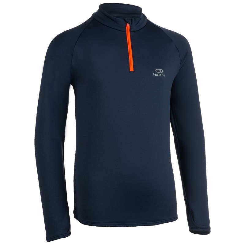 ODZIEŻ ODDYCHAJĄCA DO BIEGANIA DLA DZIECI Bieganie - Bluza ESSENTIEL  KALENJI - Odzież do biegania