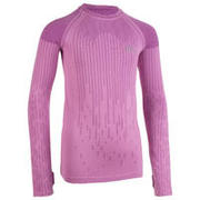 Girls' Athletics Long-Sleeved Jersey Skincare - Pink