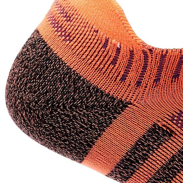 Sokken sportief wandelen / nordic walking / snelwandelen WS 900 Invisible oranje