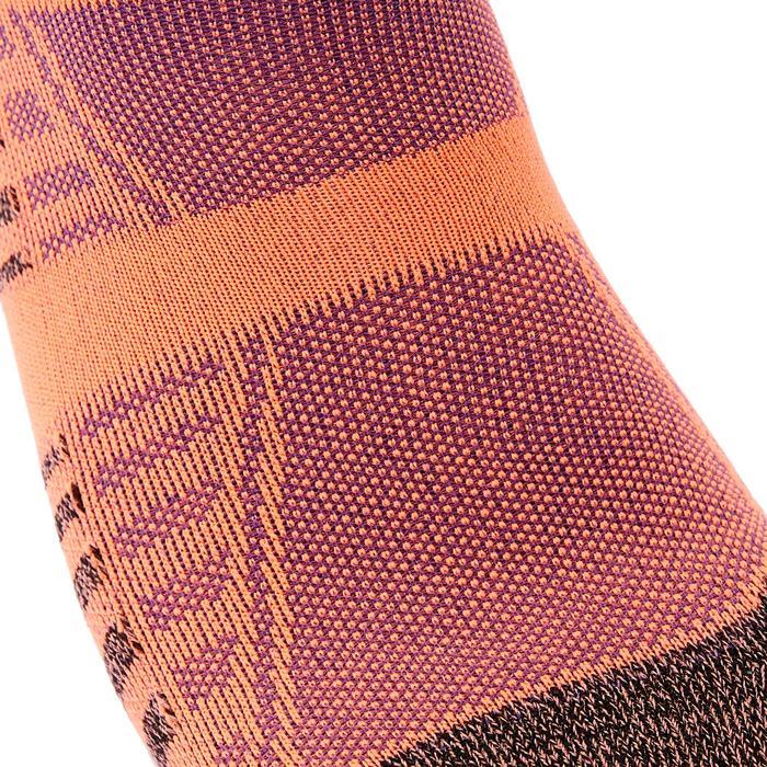 Chaussettes marche sportive/nordique/athlétique WS 900 Invisible orange