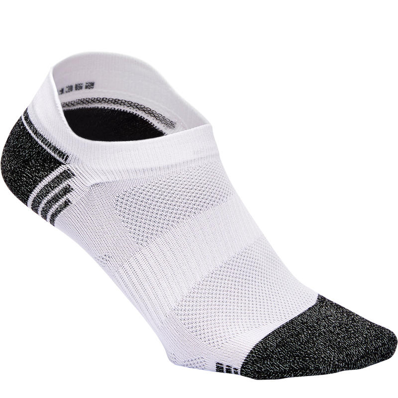 Chaussettes marche sportive WS 500 Fresh Invisible blanc