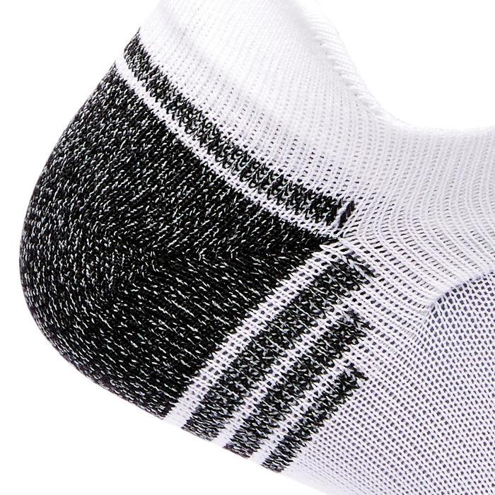 Socken Füßlinge WS 500 Fresh Invisible weiß/schwarz