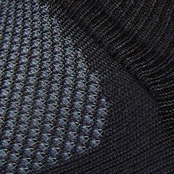 Sokken voor sportief wandelen WS 500 Fresh Invisible zwart