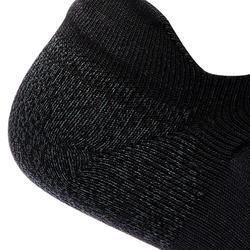 Chaussettes marche sportive WS 500 Fresh Invisible noir