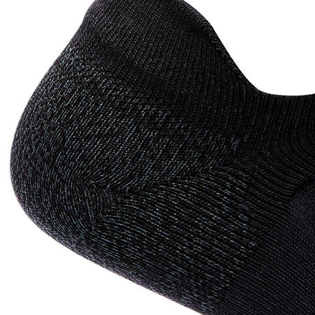 WS 500 Fresh Invisible fitness walking socks black