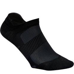 Calcetines Caminar Newfeel SK 500 Fresh Invisibles Negro