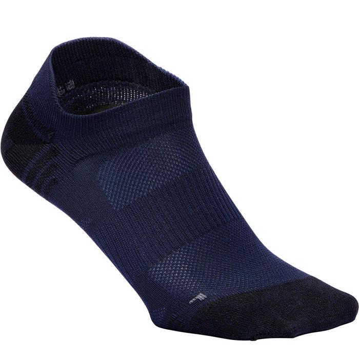 Sokken voor sportief wandelen WS 500 Fresh Invisible marineblauw