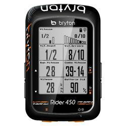 Fietscomputer Rider 450E fietsnavigatie