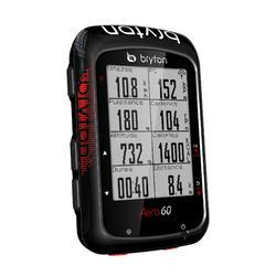 GPS-Fahrradcomputer BRYTON Aero 60H (mit Herzfrequenzgurt)