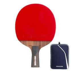 俱樂部用乒乓球拍+球拍套TTR990 OFF C-PEN 6*