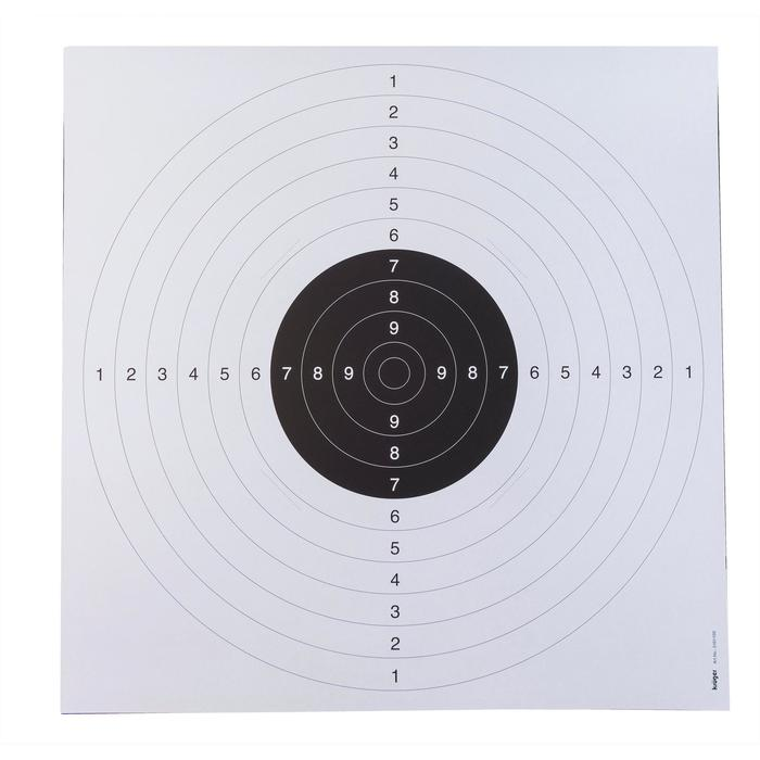 Schietschijf voor pistoolschieten 25m set van 20